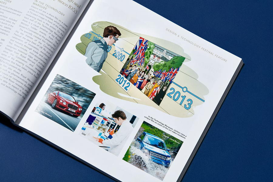 brochure design illustration