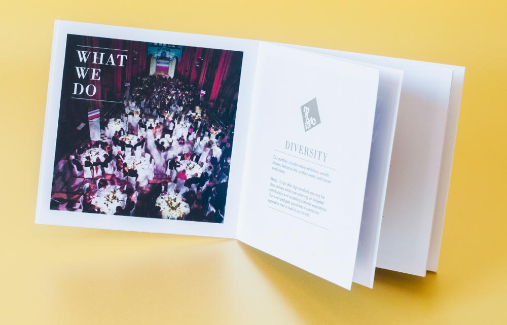 luxury brochure design