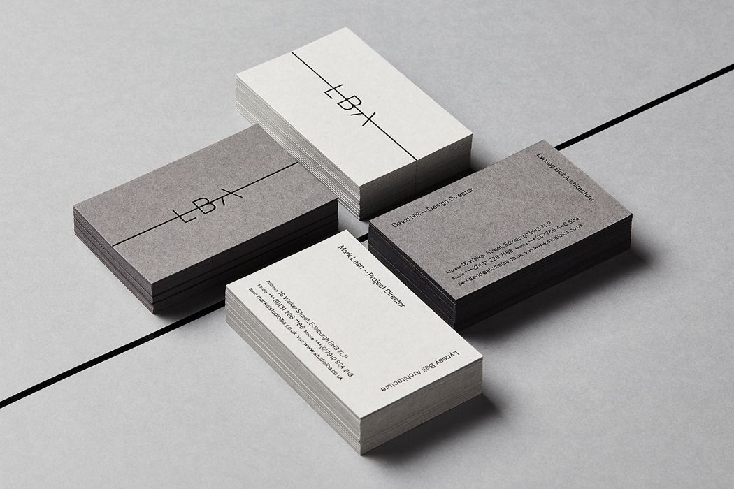branding for architects business cards