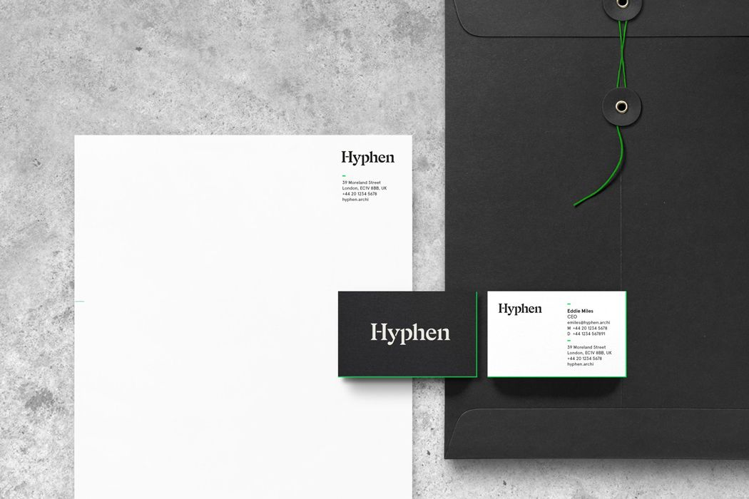 branding for architects green