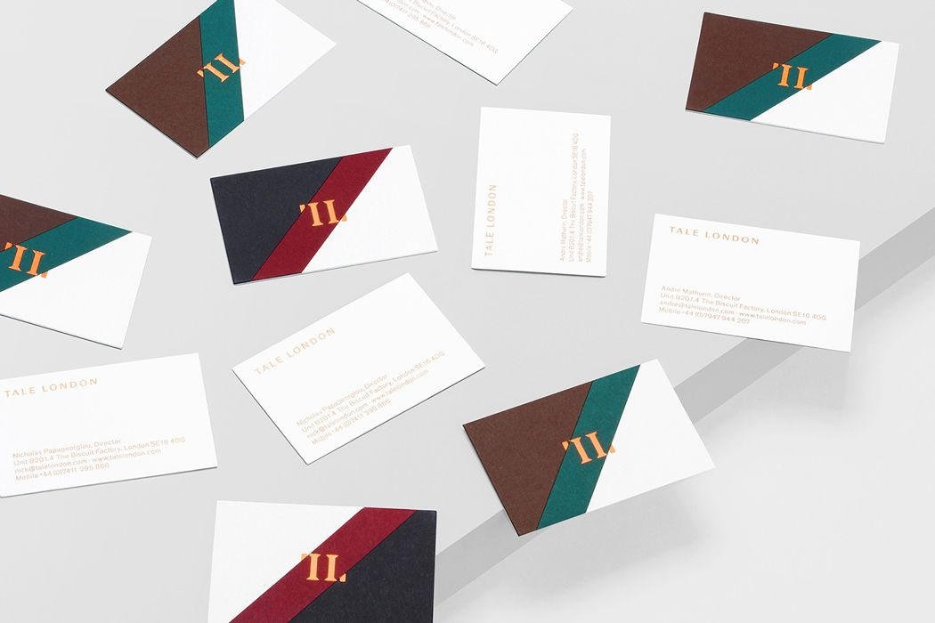 branding for interior designers business cards