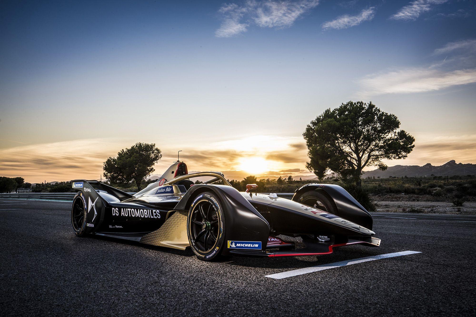 ds techeetah racing car