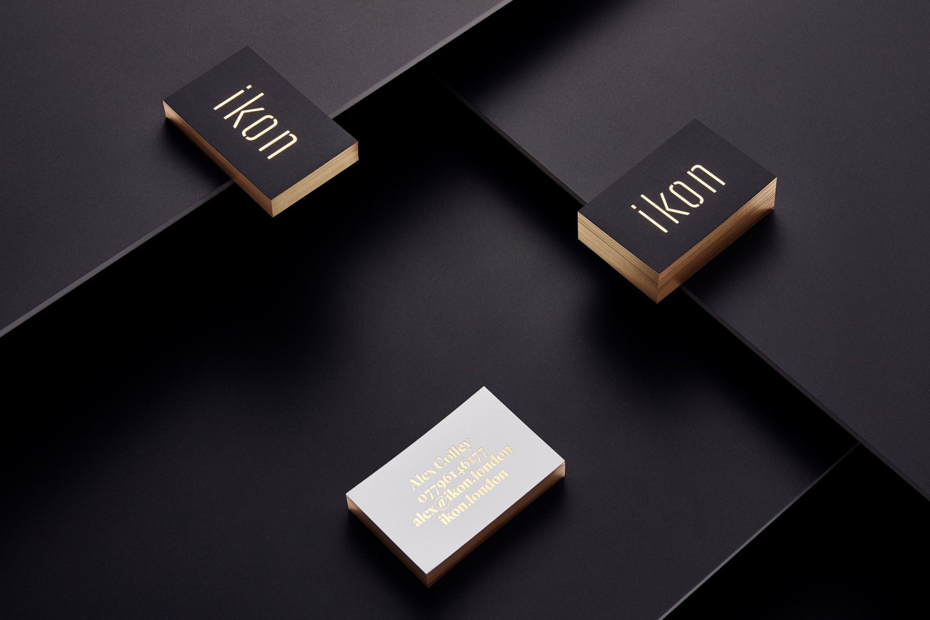 business cards with business card holder