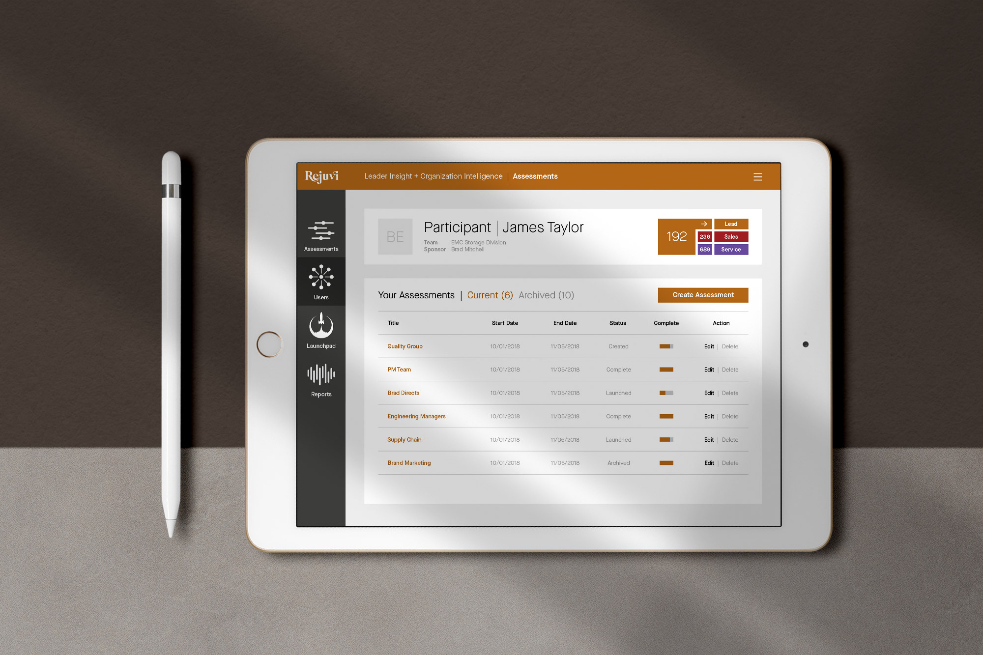 startup brand identity user interface