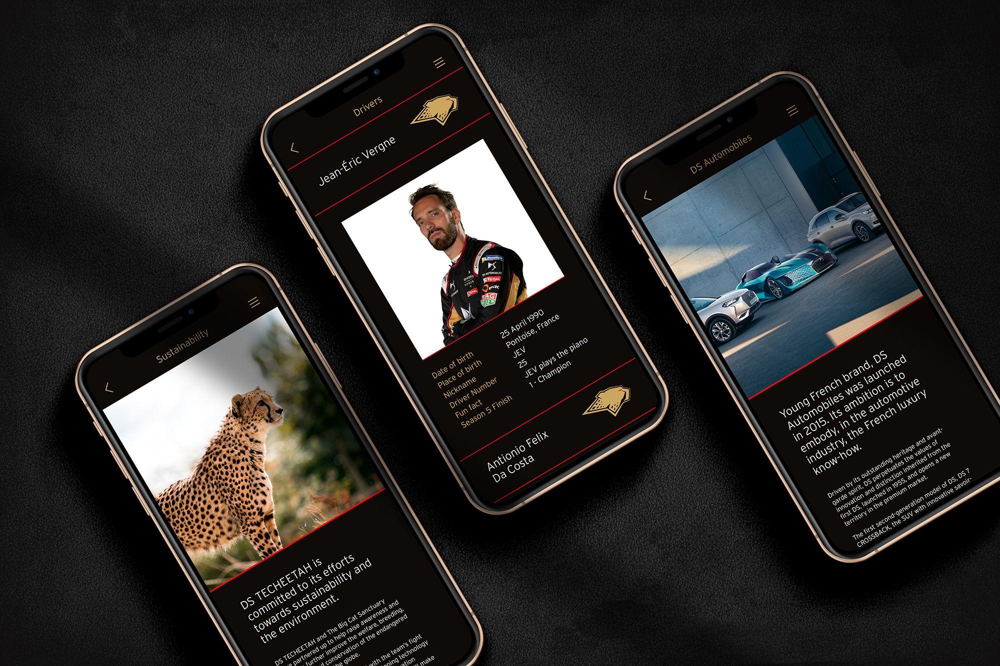 mobile motorsport app