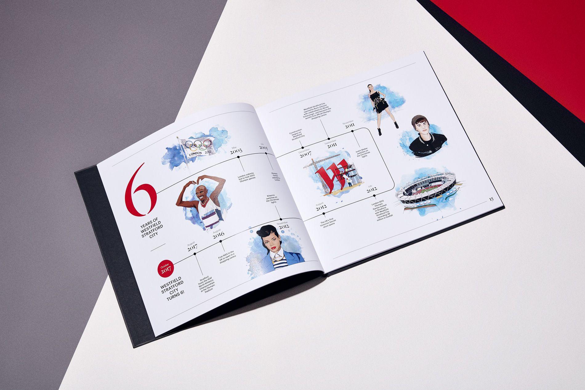 illustrated brochure design