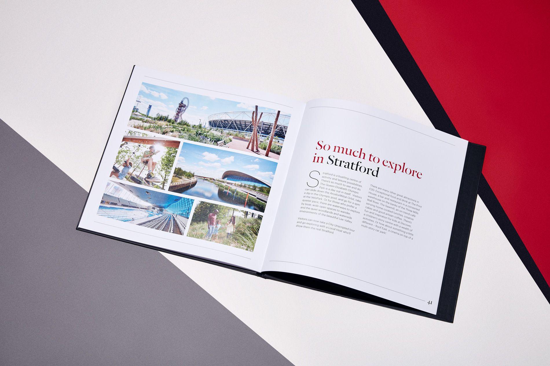 printed marketing brochure design