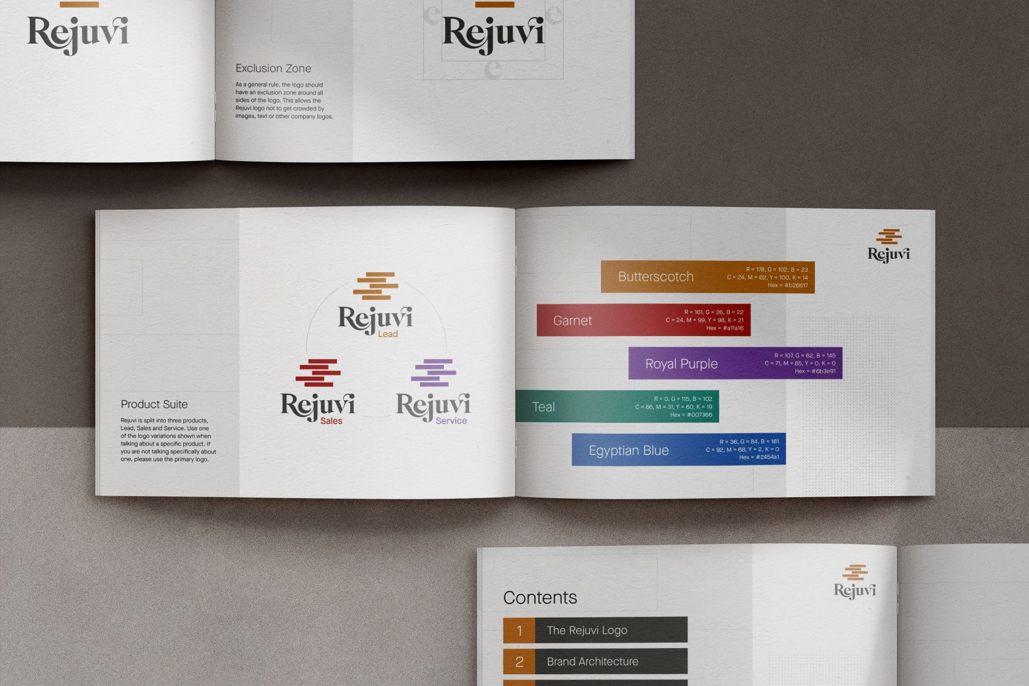 startup branding guidlines layout