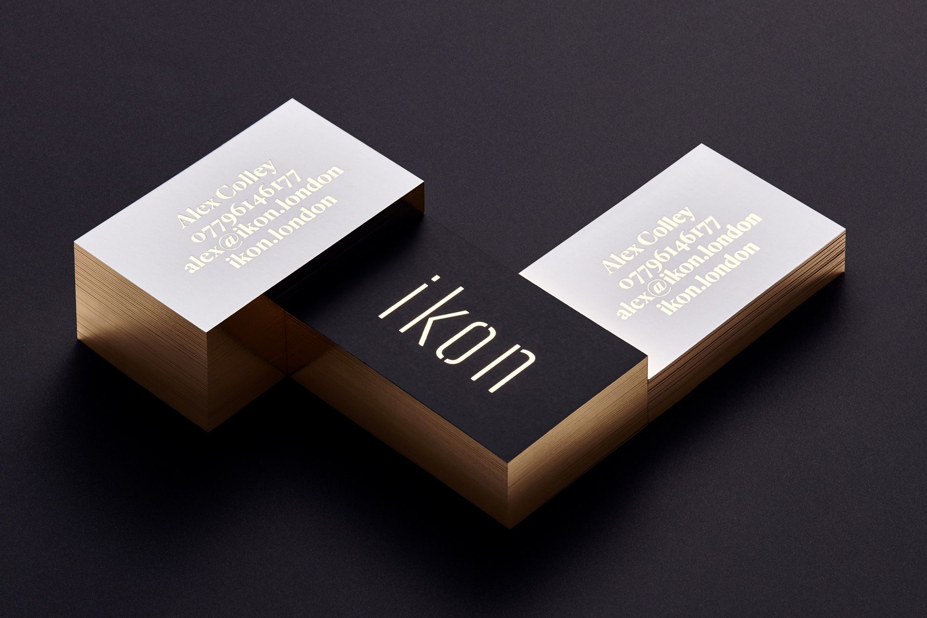 branding agency business cards
