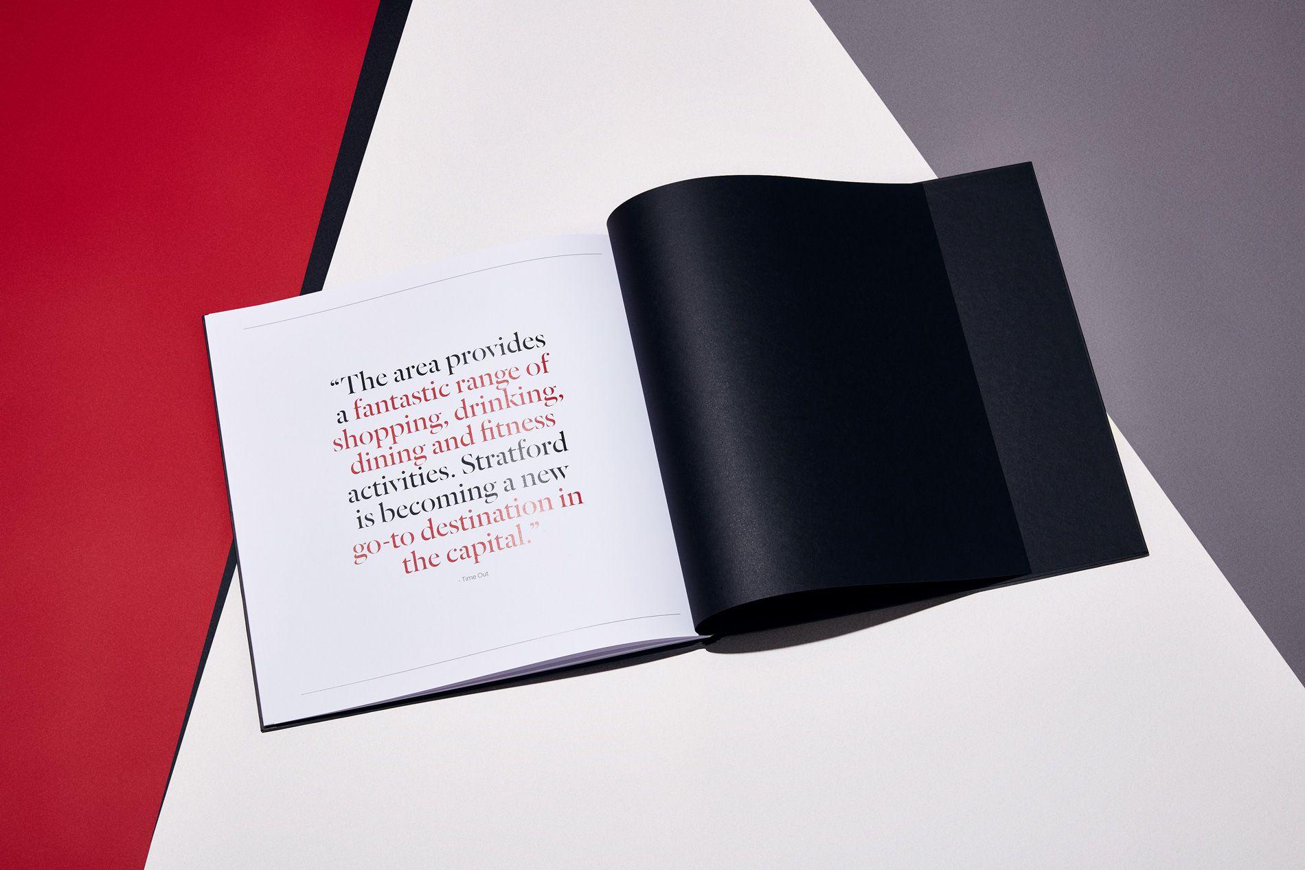 back cover of brochure design