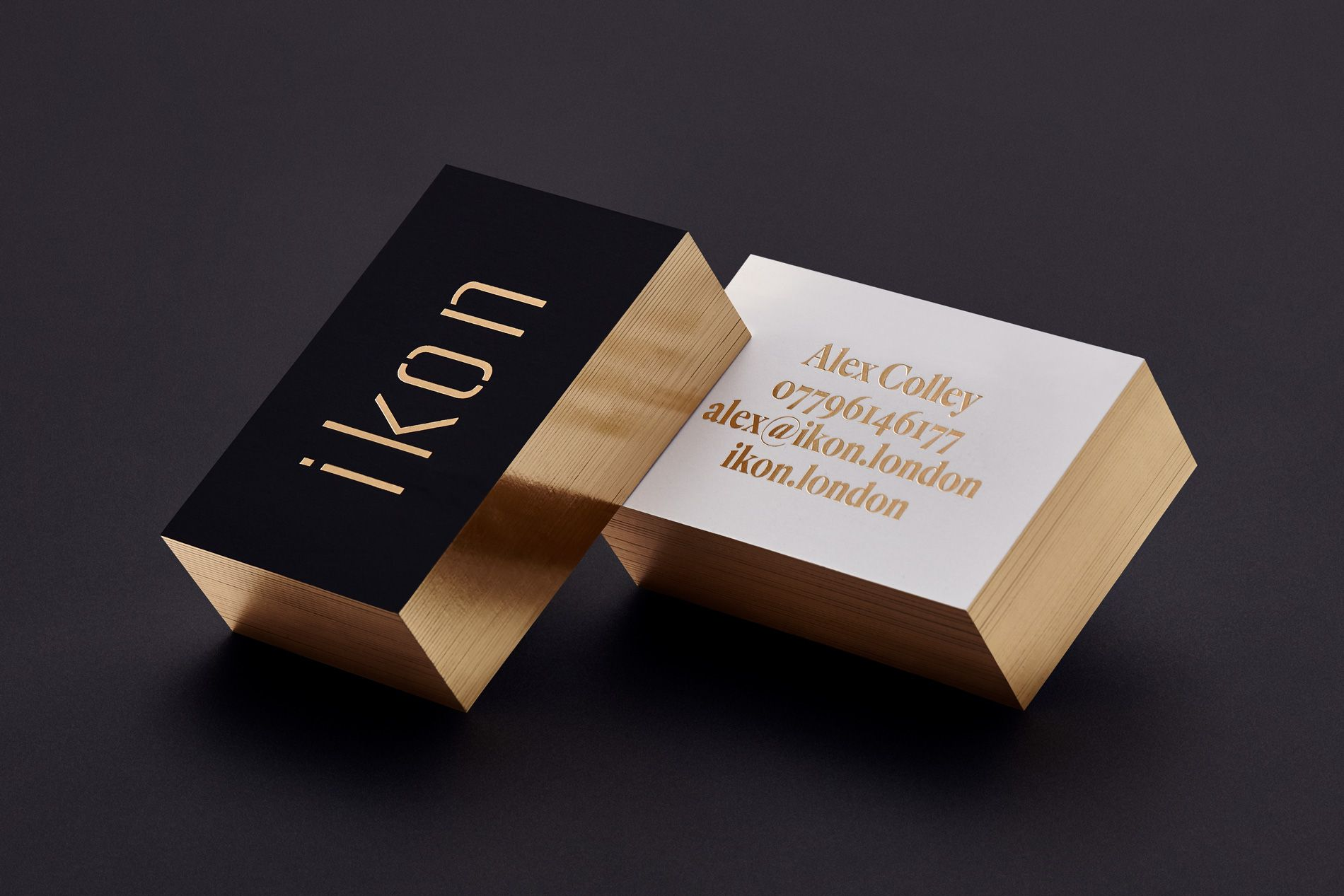 brand strategy minimal business cards