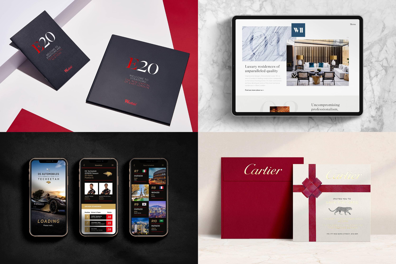 ikon luxury branding agency in london
