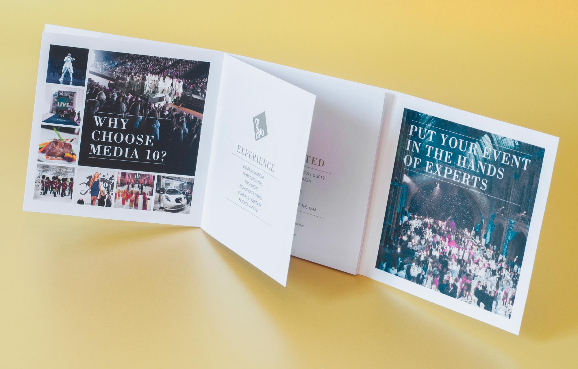 brochure design and production agency in london