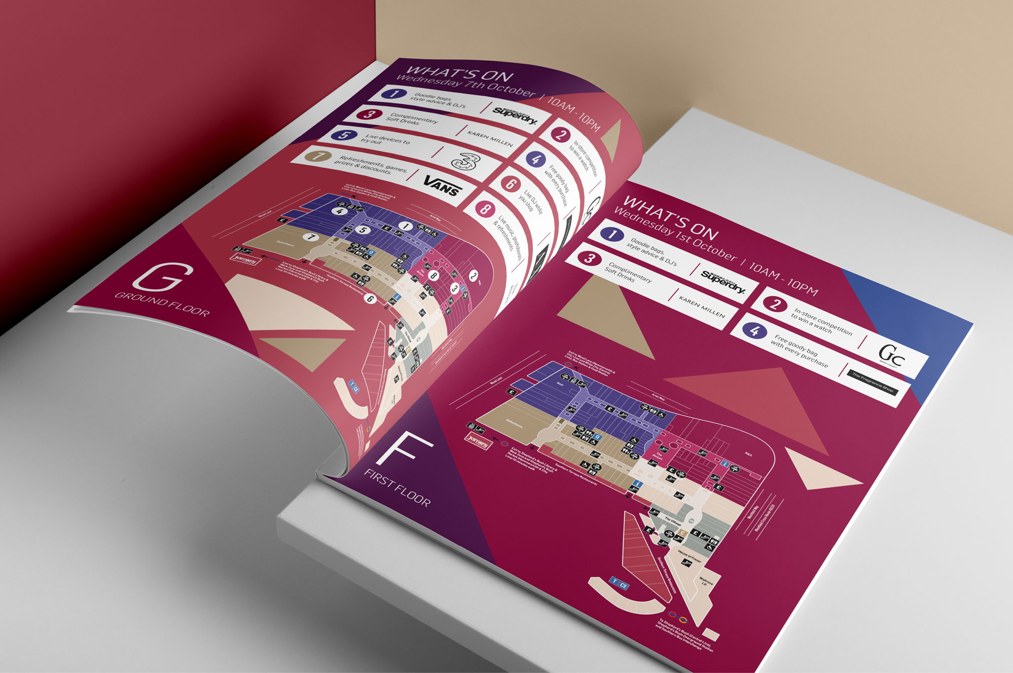 creative design agency booklet
