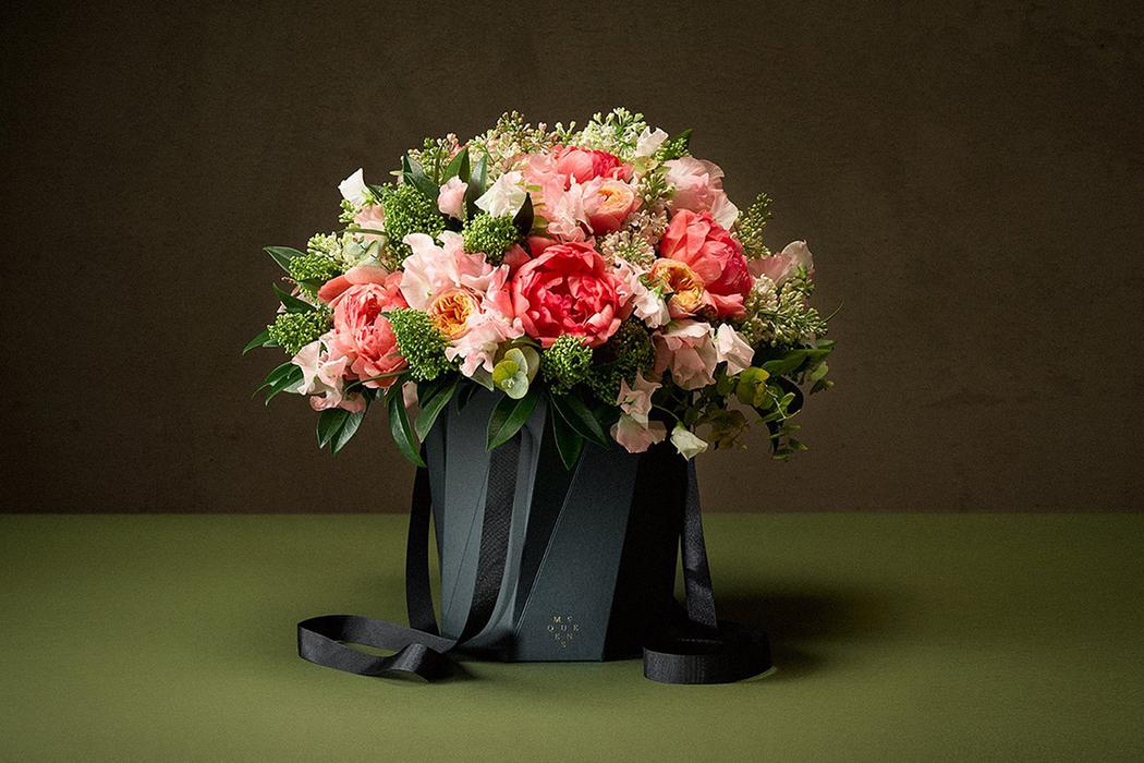 luxury sustainability mcqueens flowers