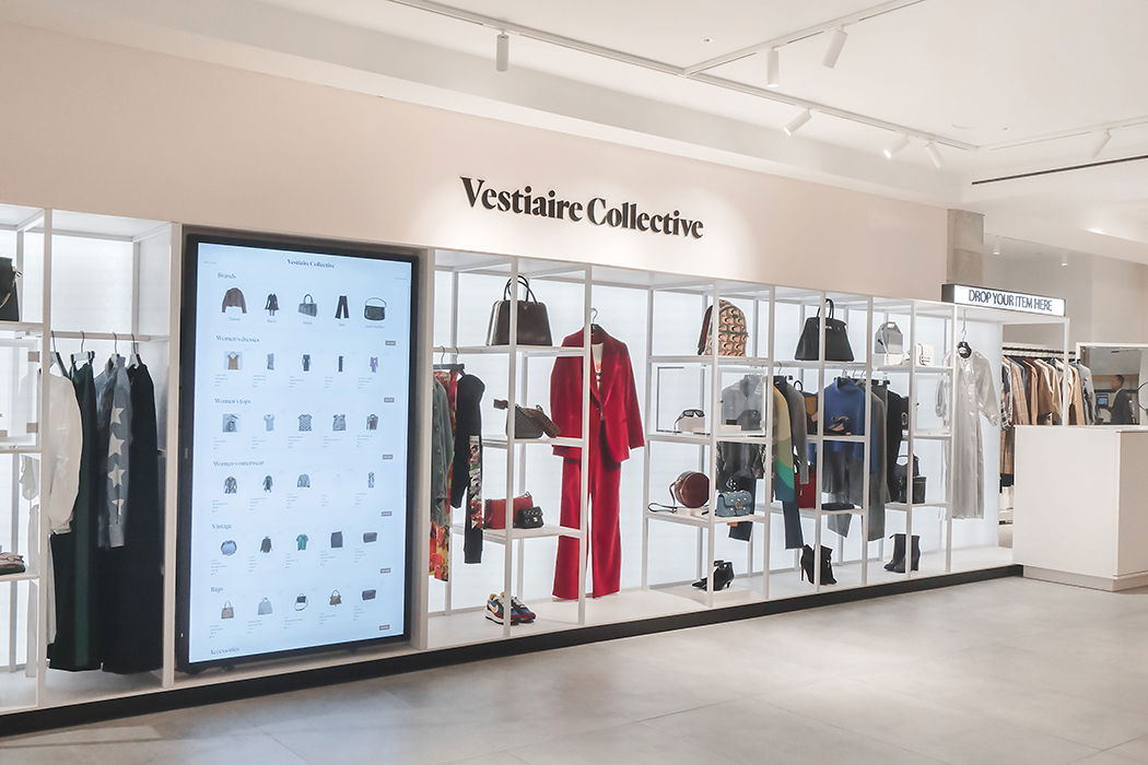 luxury sustainability second hand shopping