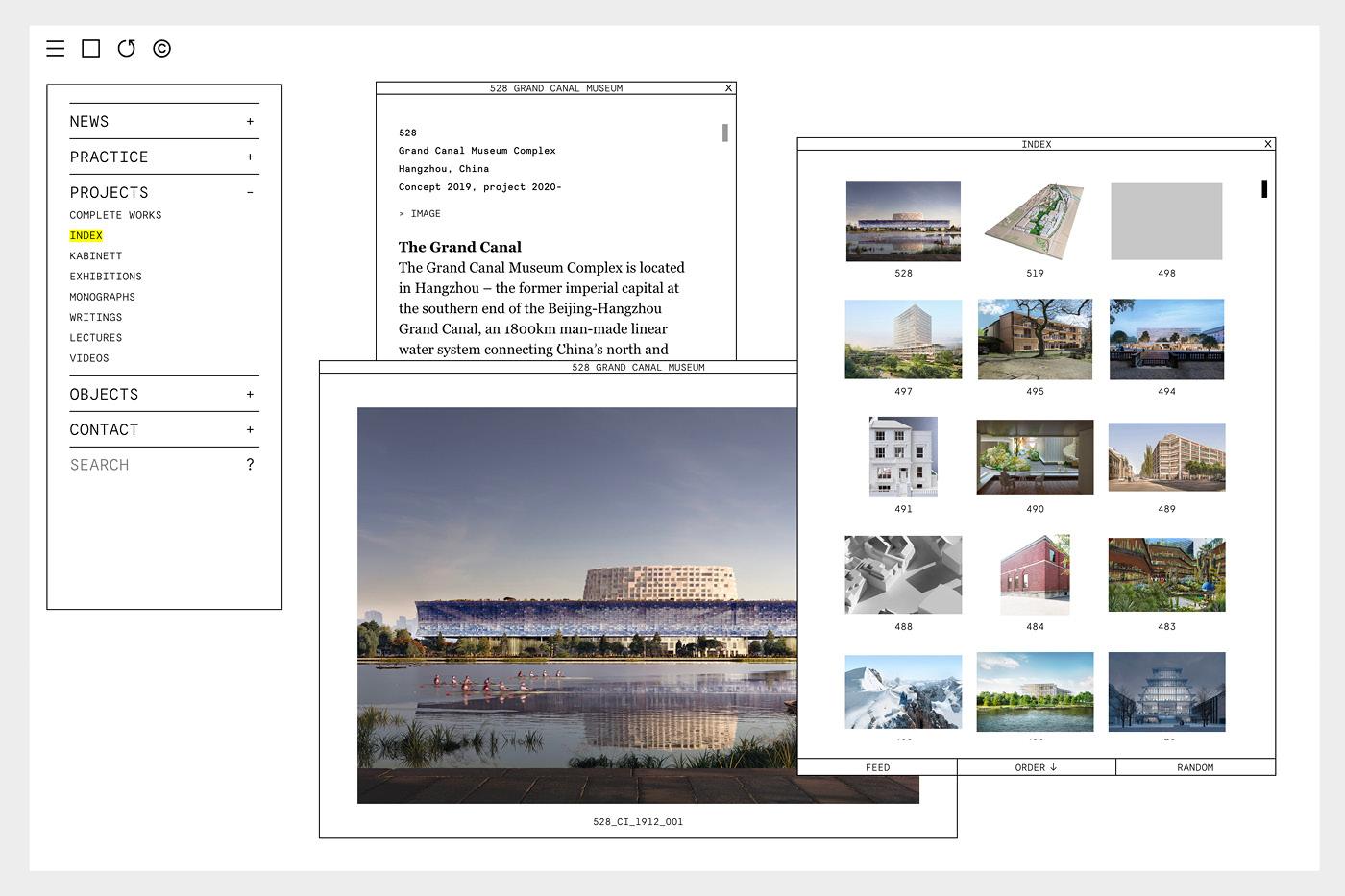 best architecture websites unique functionality